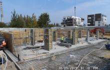 Zdjęcia z budowy - 30 wrzesień 2014