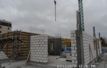 Zdjęcia z budowy - 7 listopad 2014