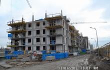 Zdjęcia z budowy - 13 styczeń 2015