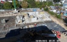 Zdjęcia z budowy - 18 wrzesień 2015