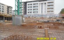 Zdjęcia z budowy - 24 sierpień 2018