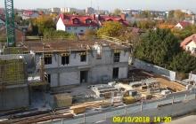 Zdjęcia z budowy - 9 październik 2018