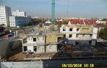 Zdjęcia z budowy - 18 październik 2018